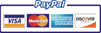 We accept most credit cards, checks and checks by fax