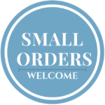 Small Orders Welcome