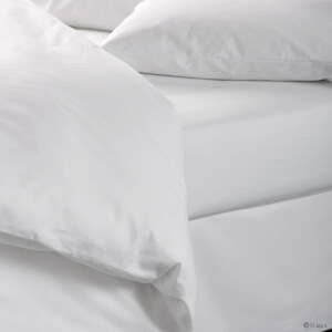 T180 Bed Sheets   White   Made In The USA