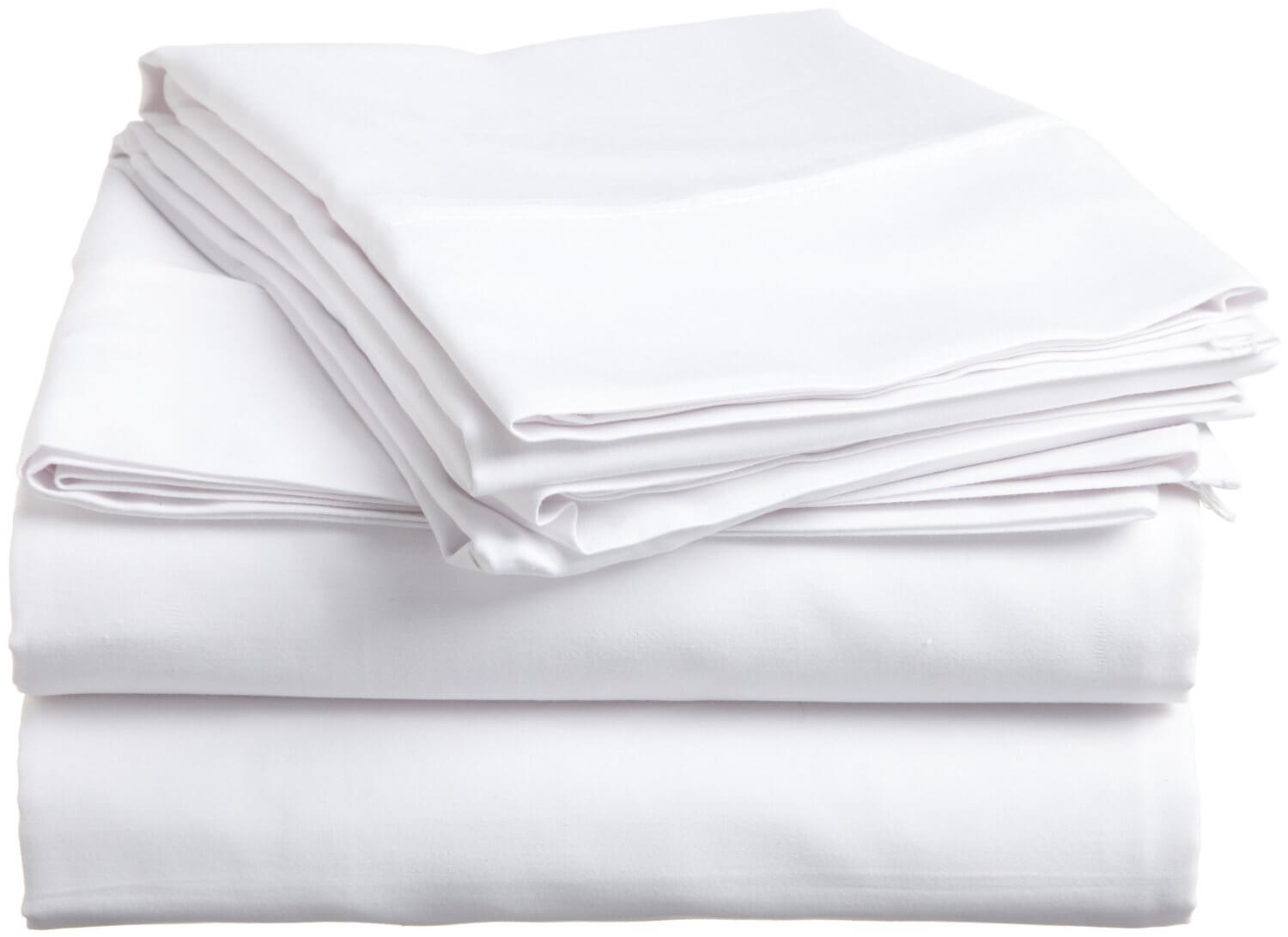 Exceptionnel T130 Bed Sheets   White